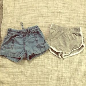 EUC girls shorts bundle.